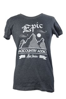 T-shirt - Backcountry addict (dam)