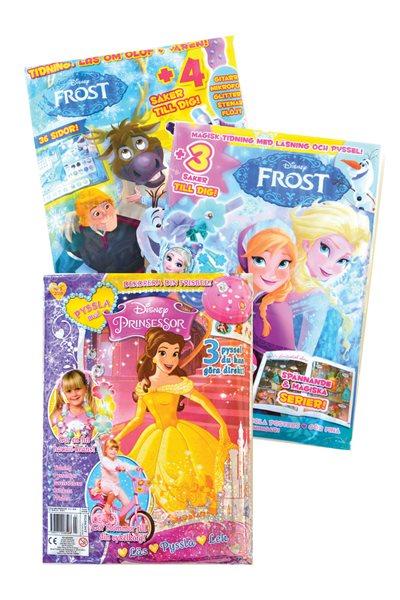 Frost & Prinsessor Pysselpaket 2020