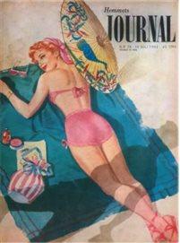 Affisch HJ 1952