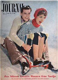 Affisch HJ 1954