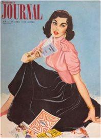 Affisch HJ 1955