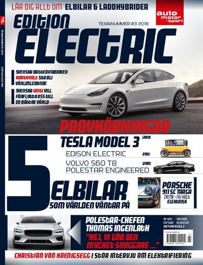 Specialutgåva Edition Electric 2019