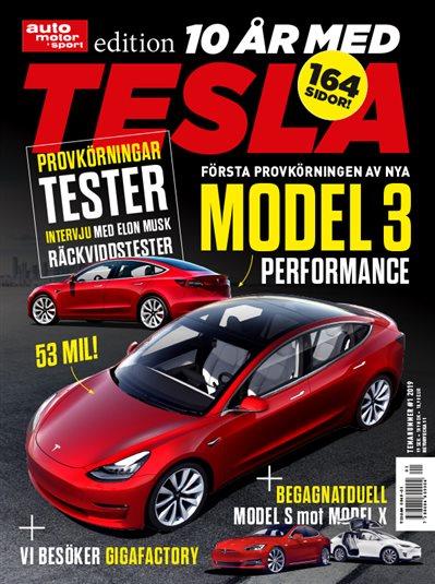 Specialutgåva Tesla 2019