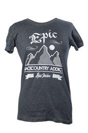 T-shirt - Backcountry addict (dam)
