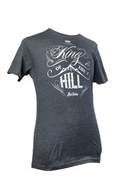 T-shirt - King of the hill (herr, svart)