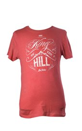 T-shirt - King of the hill (herr, röd)
