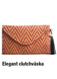Elegant clutchväska