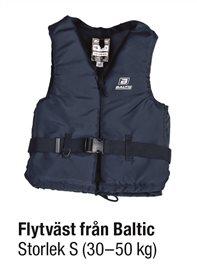 FLYTVÄST BLÅ STL S 30-50 kg