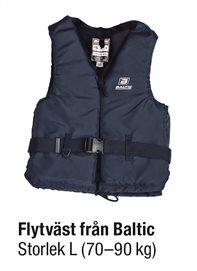 FLYTVÄST BLÅ STL L 70-90 kg
