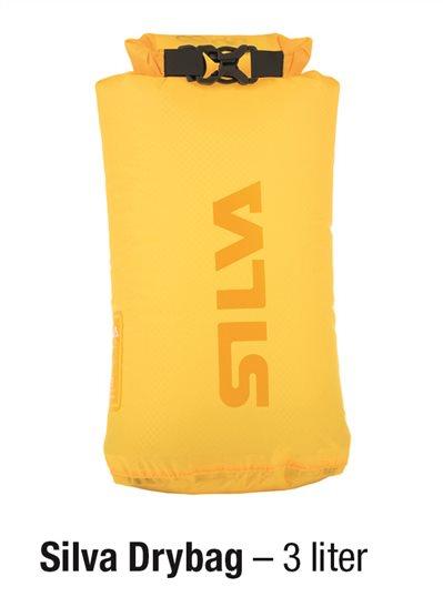 Dry bag gul 30D 3 L Silva