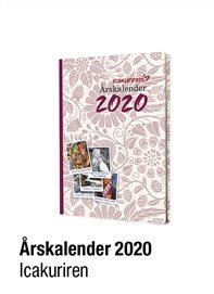 Icakurirens årskalender 2020