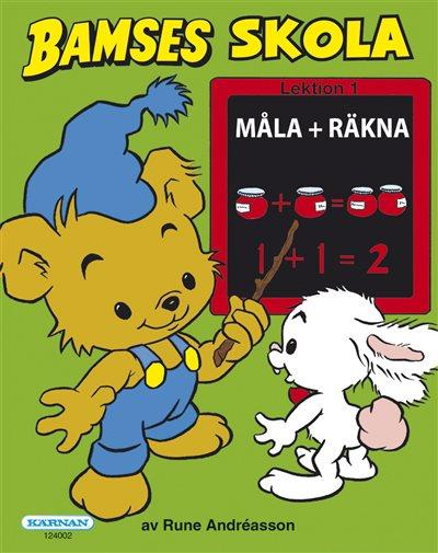 Bamses Skola - Måla + Räkna