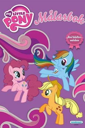 Målarbok My Little Pony