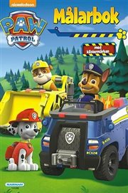 PAW Patrol målarbok