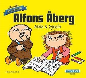 Alfons minibok måla & pyssla