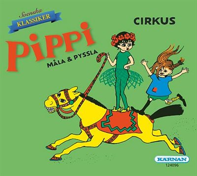 Pippi Cirkus - Måla & Pyssla