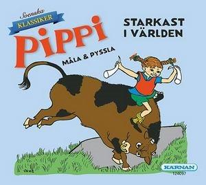Pippi starkast i världen - Måla & Pyssla
