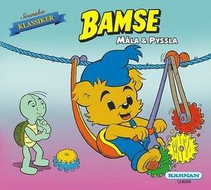 Bamse - Måla & Pyssla