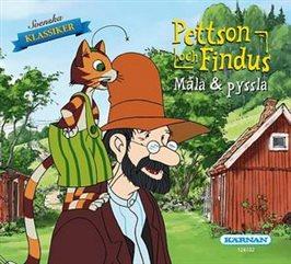 Pettsson och Findus - Måla & Pyssla