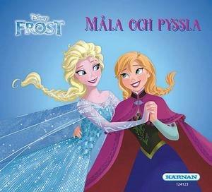 Mini målar- och pysselbok Frost