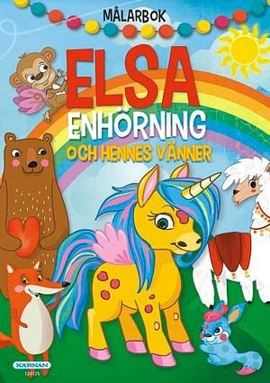 Målarbok Elsa enhörning & hennes vänner