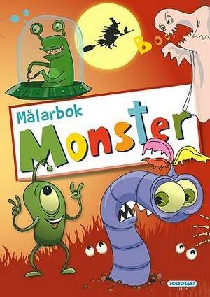 Målarbok - Monster