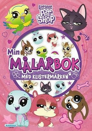 Målarbok  - Littlest pet shop