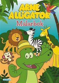 Målarbok Arne Alligator