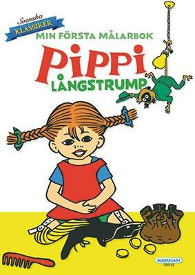 Pippi Långstrump - Min första målarbok
