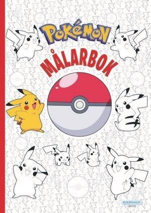 Pokemon målarbok