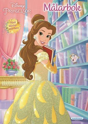 Disney Prinsessor - Målarbok