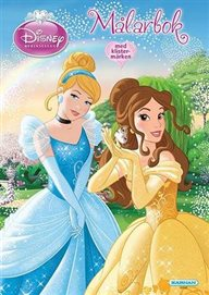 Målarbok Prinsessor