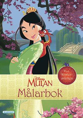 Målarbok Mulan