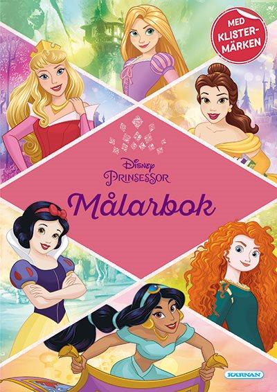 Prinsessor - Målarbok