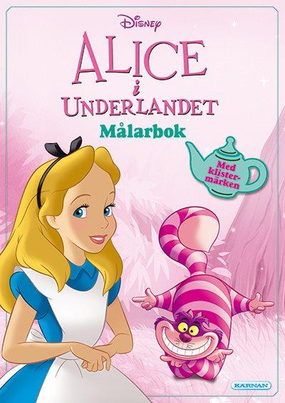 Alice i Underlandet - Målarbok