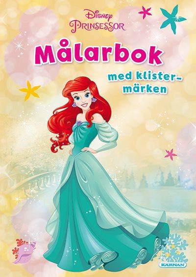 Prinsessor - Ariel - Målarbok