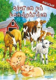 Målarbok - Djuren på bondgården