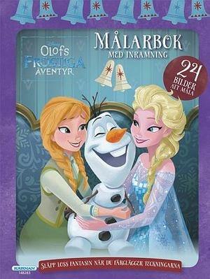 Målarbok Olofs frostiga äventyr