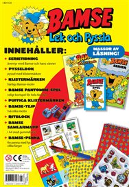 Bamse Lek & Pyssla: Läsning & pyssel