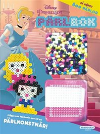 Pysselbok med pärlor - Prinsessor