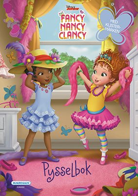 Pysselbok Fancy Nancy Clancy