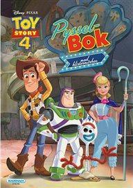 Toy Story 4 - Pysselbok