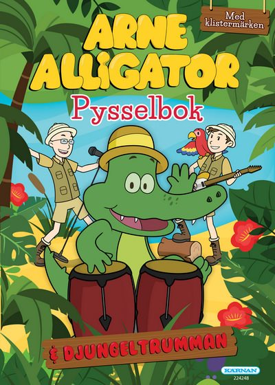 Pysselbok - Arne Alligator
