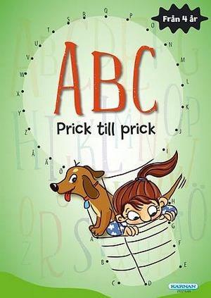 Pysselbok - prick till prick ABC