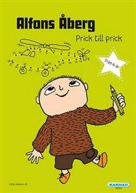 Målarbok - Alfons - Prick till prick