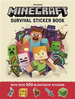 Minecraft stickerbok