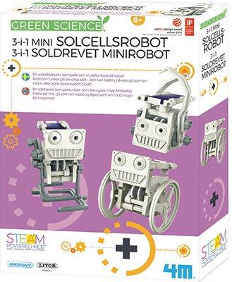 4M 3-i-1 solcellsrobotar