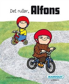 Miniböcker - Alfons, 4 olika