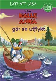 Lätt att läsa Kalle Anka på utflykt