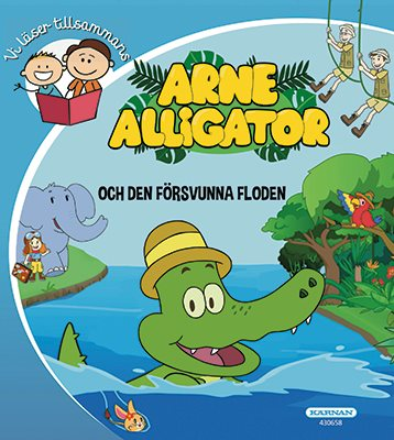 Vi läser tillsammans Arne Alligator